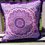 CSM002P – Cushion Cover Mandala Purple